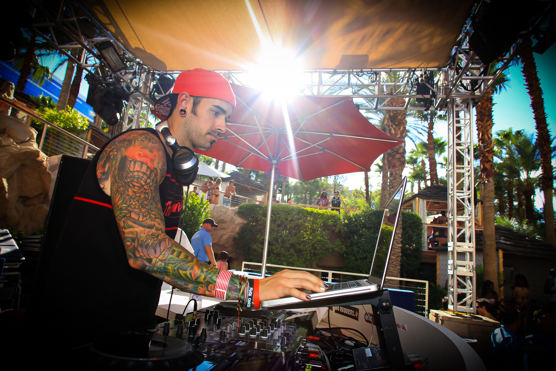 Dj Shift at Hard Rock Beach Club