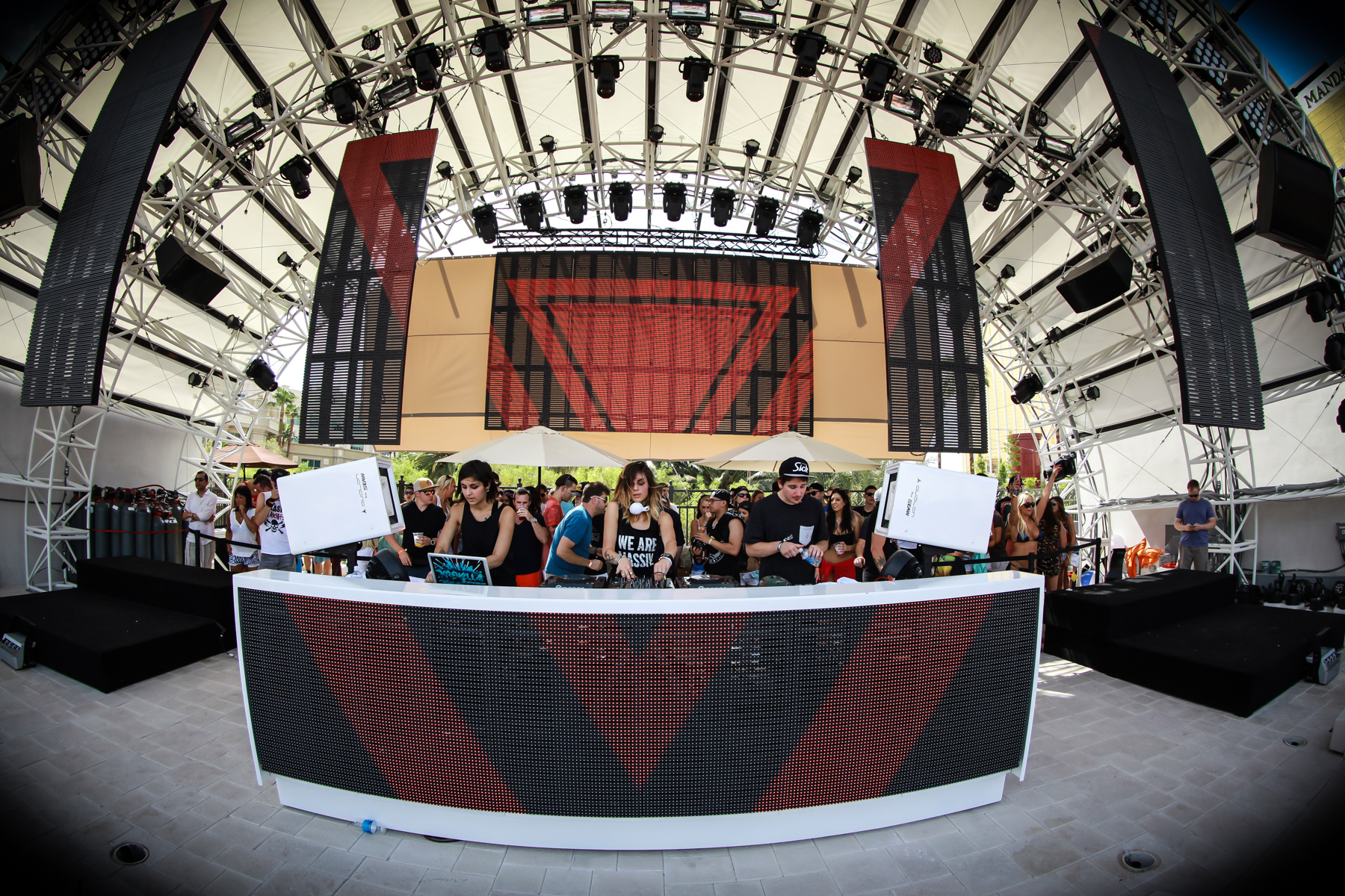 Krewella at Daylight Beach Club